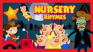 Nursery Rhymes For Kids - Kids Hut Rhymes || English Poems For Kids