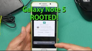 How To Root Galaxy Note 5!