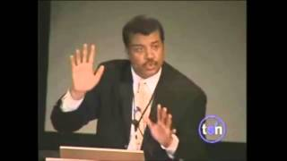 Neil deGrasse Tyson- Debunks Creation (Intelligent Design)
