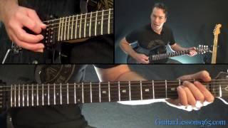 Black Sabbath - Children of the Grave Guitar Lesson (Rhythms)