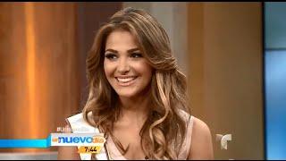 Migbelis Castellanos, Miss Venezuela 2013-2014 en Un Nuevo Día de Telemundo HD
