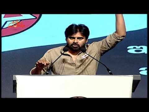 Pawan Kalyan Emotional About Telangana - Jana Sena Party Launch - Speech Live