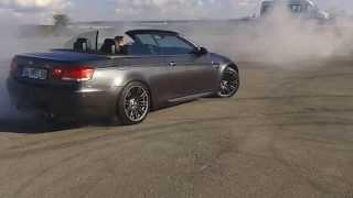 BMW M3 CABRIO DONUT-DRIFT