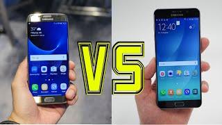 Samsung Galaxy S7 Edge vs Galaxy Note 5 (4K)