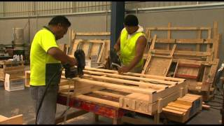 Custom Pallets In Sydney | Quality Pallets Protect Your Goods...Watch How They're Made
