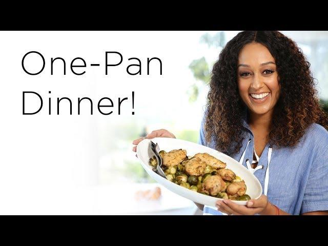 Tia Mowry's Simple Sheet Pan Dinner | Quick Fix