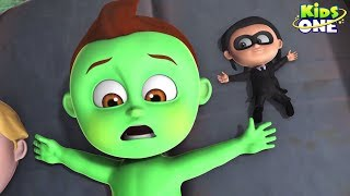 UNITY Goes Wrong | GREENY KIDDO & His Team Plan Failed | Funny Episode For Kids - KidsOne