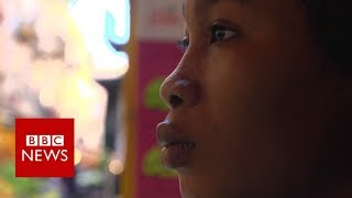 Trafficked into prostitution with black magic - BBC News
