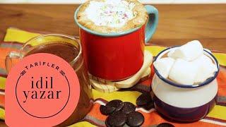 3 FARKLI Sıcak Çikolata Tarifi! (MEKSİKA, VEGAN, NUTELLALI) - İdil Yazar - Yemek Tarifleri