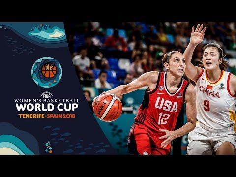 China v United States - Highlights - FIBA Women's Basketball World Cup 2018