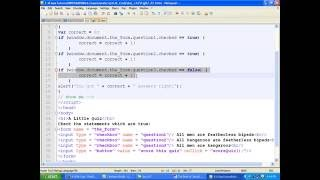 Javascript Bangla Tutorial::Ch7:  Providing and Receiving Information with FORMS - Part 4