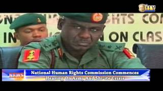 Army Chief, Tukur Buratai Appears Before NHRC Over Clash Between Army And Shiite