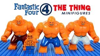 LEGO Fantastic Four: The Thing Marvel Superheroes KnockOff Minifigures (Bootleg)