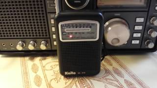 Kaito KA-210 am fm weather radio. A MUST HAVE!! R#26