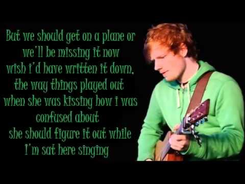 Ed Sheeran Don't Lyrics (Dirty)