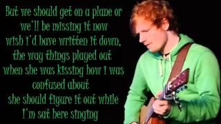 Ed Sheeran Dont Lyrics Dirty