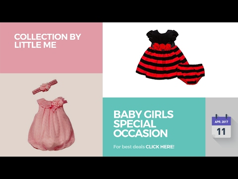 Baby Girls Special Occasion Collection By Little Me