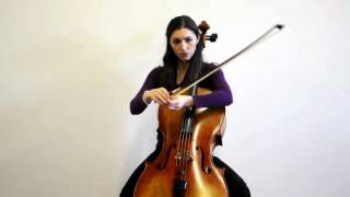 Online Cello Lessons - 1 - What a  Bow is