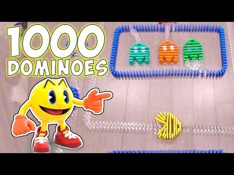 Xxx Mp4 1000 Dominoes Pac Man Hevesh5 Challenge DavidsTV 3gp Sex