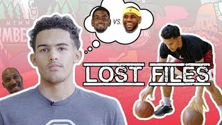 Trae Young Talks Melo vs Zion, LeBron/Kyrie Beef & LaVar! Interview + Workout From BEFORE COLLEGE!