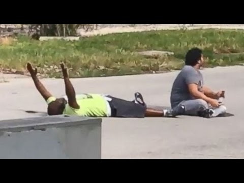 Police Shoot Unarmed Black Man With Hands Up [CAUGHT ON TAPE]