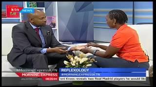 Morning Express  Using Reflexology to heal muscular pain 30 11 2016