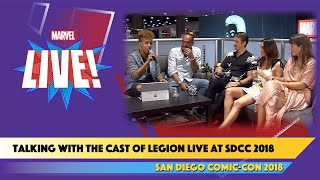 Live from SDCC 2018, the Cast of
