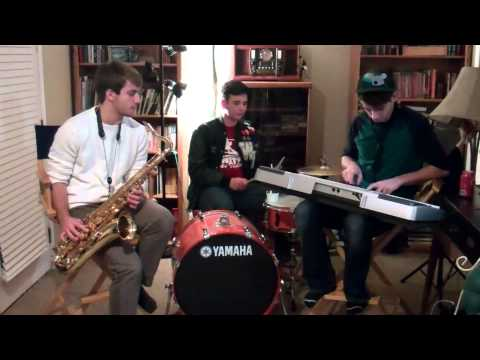 Calabria (Firebeatz Remix) | Tenor Sax and Keyboard Cover | (Plus Nick)