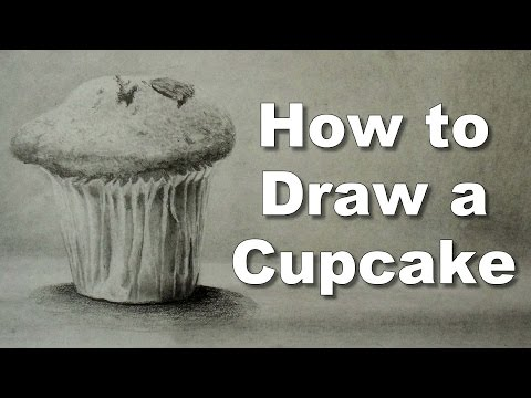 Xxx Mp4 How To Draw A Cupcake Drawing Tutorial Time Lapse 3gp Sex