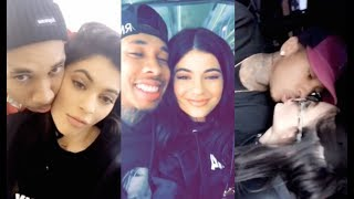 ALL Kylie Jenner with Tyga Snapchat Videos (Part.1)
