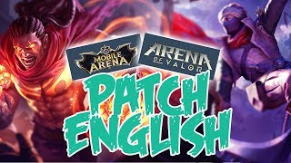 Cara Download Mobile Arena Thailand + Patch English