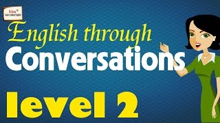 ►English Conversation Practice with subtitle: Beginner Level  2