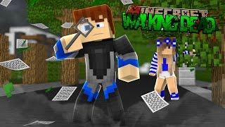 Minecraft THE WALKING DEAD - FINDING LITTLE CARLY'S HEADBAND!!