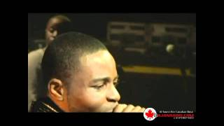 Chaplin and  K Williams God is Gangster Live 2011