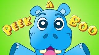Peek-A-Boo, I see you!| Kids Songs | by Little Angel