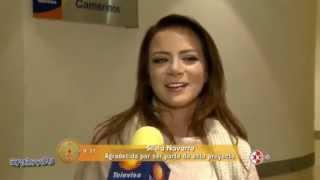 Silvia Navarro agradecida con Mi Corazon es Tuyo
