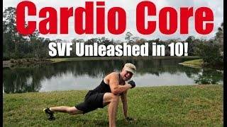 HIIT Cardio Core Challenge | SVF Unleashed in 10! Workout #8