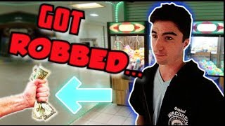 MY ARCADE WAS ROBBED....