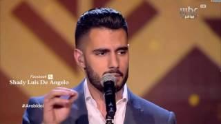 عرب ايدول المرحلة النصف النهائية يعقوب شاهين من فلسطين ميدلي مواويل / عايل ماني عايل Arab idol 2017