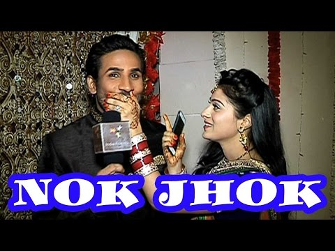 Have a look to Aparna Dixit and Krip Suri's cute Nok Jhok