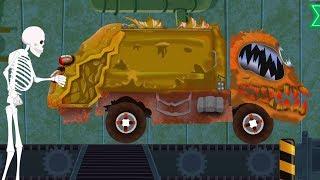Truk Sampah yang | Pabrik Mainan | Kendaraan untuk anak | Scary Video | Garbage Truck | Toy Factory