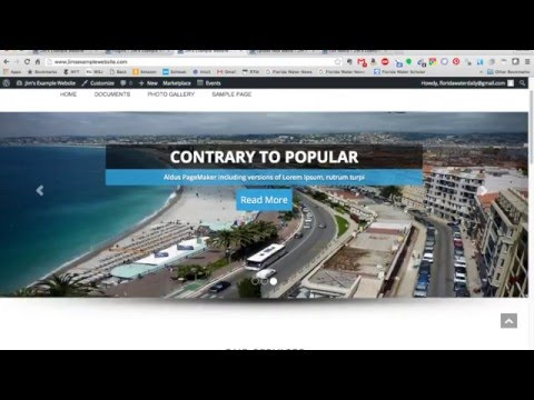 How to Customize A Wordpress Theme - YouTube Alternative Videos Watch & Download
