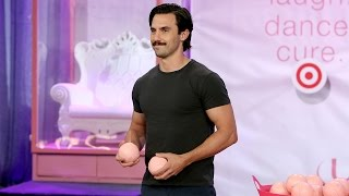 Milo Ventimiglia Strips Down for the Splash Tank