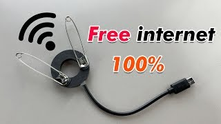 ( New ) Free internet 100% Working -  New Technology 2019