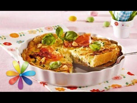 Рецепты пирогов с овощами