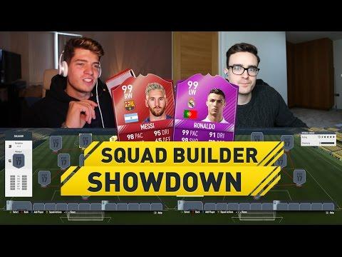 CRAZY CHEAP MESSI VS CHEAP RONALDO SQUAD BUILDER SHOWDOWN!! (Fifa 17 Ultimate Team)