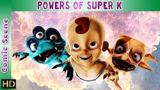 Super K (Hindi) | Powers of Super K | Comic Scene | HD