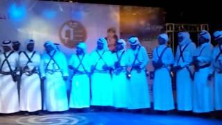 مشاركة شباب بللسمر في مسرح المفتاحة بمدينة أبها