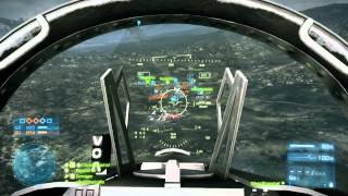 BF3 - Flying vs #2 Pilot In The World  (they banned me)