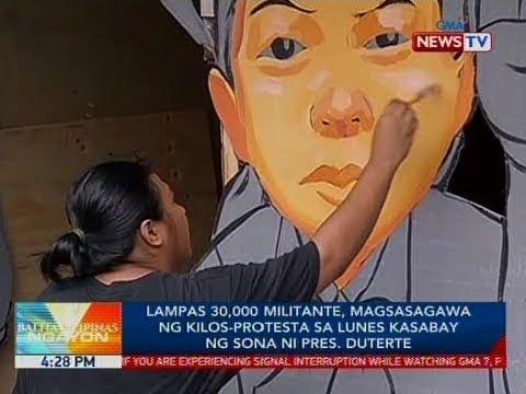 Xxx Mp4 BP Lampas 30 000 Militante Magsasagawa Ng Kilos Protesta Sa Lunes Kasabay Ng SONA Ni Pres Duterte 3gp Sex